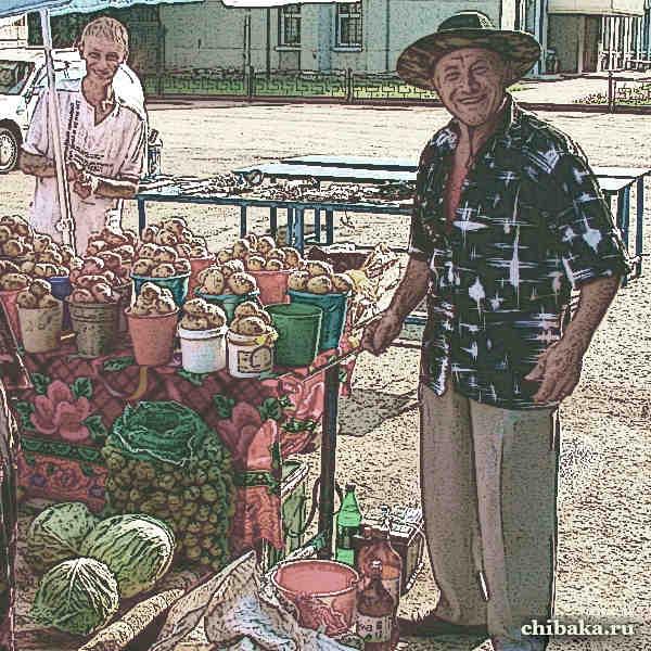 Торговля со своего огорода