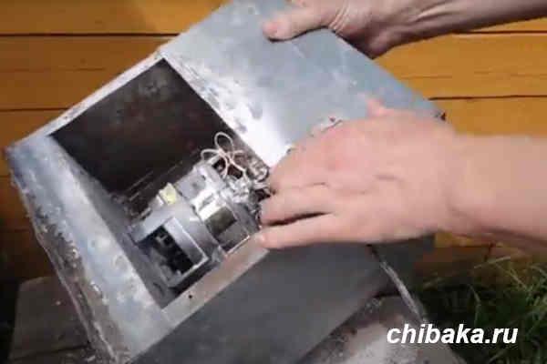 как сделать мельницу из дробилки своими руками