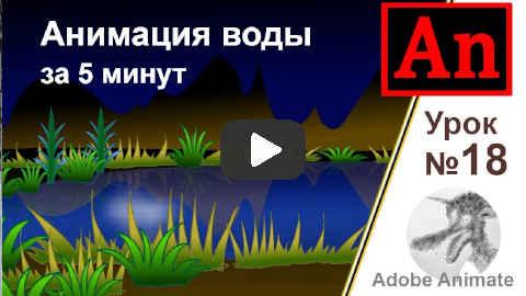 Как сделать анимацию воды